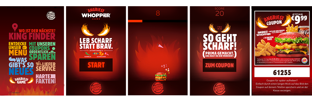Burger King Angriest Whopper Game