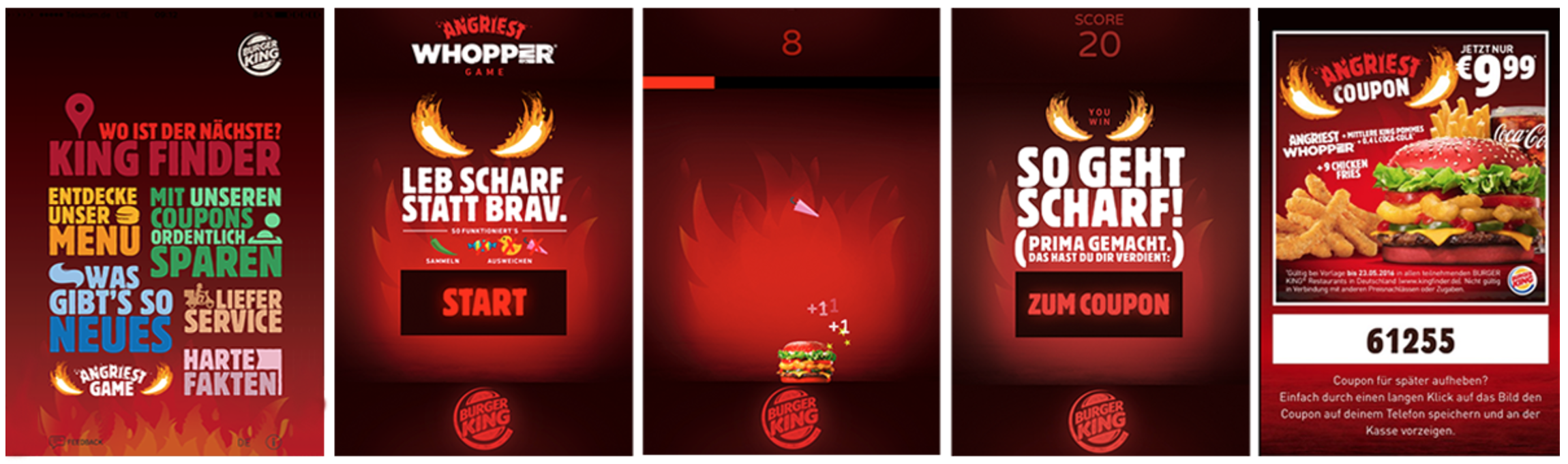Burger King Playable Ads