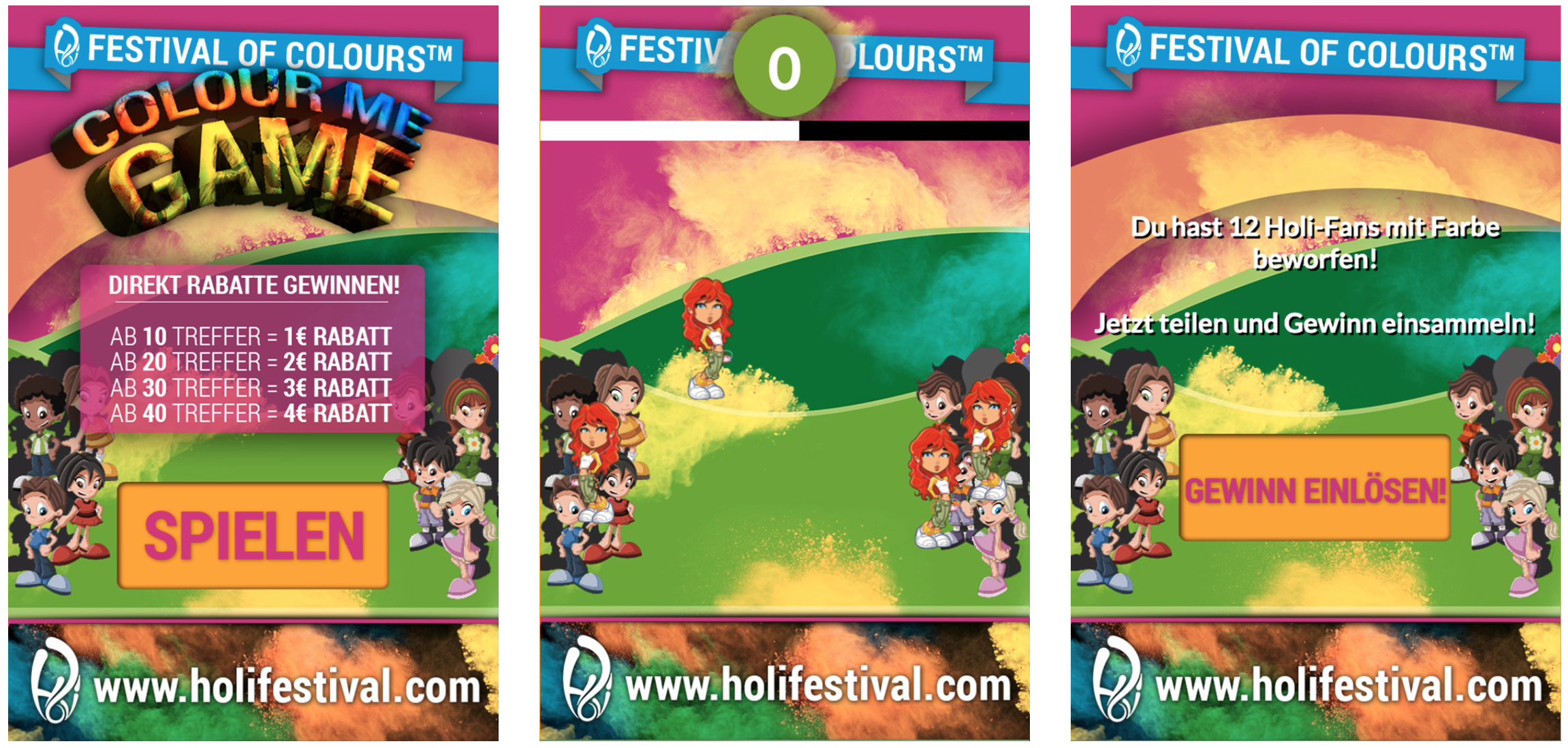Holi Festival Playable Ads